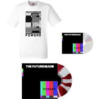 Powers - Red & White Vinyl (Ltd Edition) + CD + T-Shirt