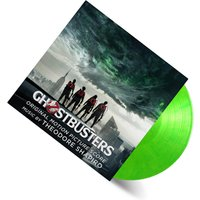 Ghostbusters 2016 OST Slimer Green Heavyweight LP