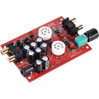 HiFi Tube Stereo Audio Headphone Amp Amplifier Preamplifier Pre-Amp for Iphone Ipad Samsung Smartphone Computer CD DVD MP3