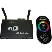 Wifi LED Controller for iPhone /Android with RF  Touch Screen Remote for RGB LED Strips