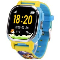American Version Tencent PQ708 QQWatch 2G GSM IP65 Water-reisitant Kids Smart Watch Phone Mini GPS LBS locator Tracker 1.22 Inches 2.5D Colorful Touch Screen MTK6260D for iPhone 6 6S 6 Plus 6S Plus Samsung S6 S6 edge S7 S7 edge HTC LG Smartphone SOS Emerg