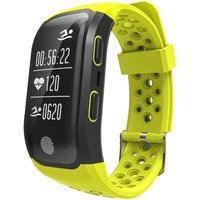 S908 GPS IP68 Waterproof Fitness Tracker Smart Band Watch Heart-rate BT Sport Wristband Calls Notification Activity Tracking Sleep Monitor for iPhone 8 Plus Samsung S8+ iOS8 Android4.3 or above