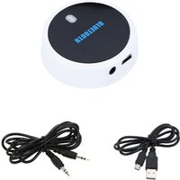 Wireless Bluetooth 3.0 Music Audio Dongle Receiver Handsfree Mic 3.5mm Car AUX Line for iPhone iPad iPod Samsung