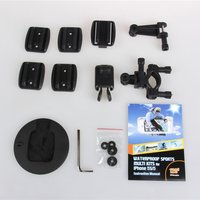 120¡ã Rugged Waterproof Sports Phone Photograph Kits with Wide Angle Lens for iPhone 5 5S