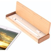 SAMDI Wooden Pencil Box Pencil Case Holder for Apple iPad Pro Pencil