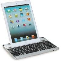 Aluminum BT Wireless Keyboard Dock Case Stand for Apple iPad Air 5