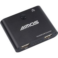 AIMOS AM-PS401 Gaming Keyboard and Mouse Converter Adapter for Game Controller Plug & Play for PS4/PS4 Pro/Slim/Xbox One/Xboxone S/X/PS3