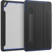 Tablet Case Replacement for iPad 7th Generation 10.2-inch Shock Proof Case Blue Black