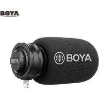 BOYA BY-DM200 Digital Stereo Cardioid Condenser Microphone MFI Certified  Superb Sound for iOS Devices Recording for iPhone iPad iPod Touch