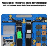 Mobile Phone Repairing Multi-function Fixture Tool Compatible with IPhone 5-XR Mainboard Maintenance Tool
