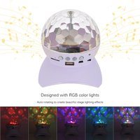 Mini Crystal Ball Wireless BT Speaker Music Player for iPhone iPad Smartphone MP3 Music Playing