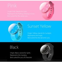 inWatch Color Sport Pedometer Smart Watch Silicon Band BT 4.0 LED for iPhone Android Synchronous Incoming Call Sedentary Reminder Anti-lost for Android 4.3 iOS7 or above