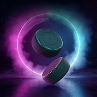 ZMI BT 5.0 Speaker & 20W MAX Wireless Qi Fast Charger 2-in-1 Multifunctional Music Player Bass Audio Soundbar with RGB Light Wireless Charging Pad Compatible for  10 Pro/iPhone