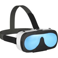 VRTOTO VR 3D Glasses Headset Virtual Reality Function 3D Movies Blue-glass Lenses Focal Length Distant View Adjust for iPhone 6 6S 6 Plus 6S Plus 6