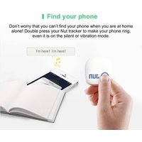 nut 2 Smart Tracker Mini Finder Wireless BT Tag Tracker Tracking Reminder Anti-lost Alarm GPS Locator for Child Key Wallet for Android iPhone iPad iPod