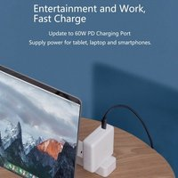 Type C to HD Video Cable USB C to HDTV Cable 4K Mirroring Compatible with MacBook Pro 2020/2019, iPad Pro, MacBook Air 2020, Chromebook Pixel, Samsung S20, Huawei Mate 30