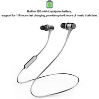UiiSii BT260 Wireless Bluetooth Headphones In-Ear Sports Earphone Waterproof Headset with Mic Magnetic Earbuds for iPhone Xiaomi Android MP3