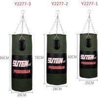 60-80cm Boxing Training Sandbag Hanging Empty Kick Punch Bag
