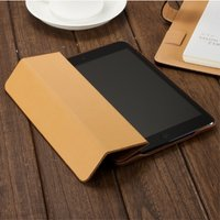 Magnetic Smart Cover Protective Case for iPad mini Wake-up Sleep Vintage Genuine Cow Leather Black