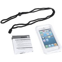 Ipega Waterproof Shockproof Snowfroof Dirtproof Silicon Protective Case for iPhone 5/5S with Strap White