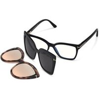 Tom Ford FT5641-B With Clip On Briller