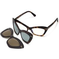 Tom Ford FT5643-B With Clip On Briller