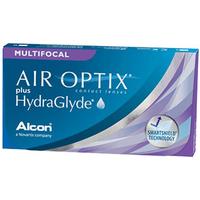 AIR OPTIX Plus HydraGlyde Multifocal 6 Pack Contact Lenses