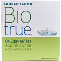 BioTrue ONEday 90 Pack Contact Lenses