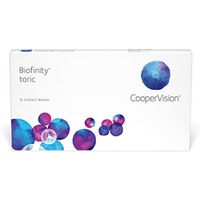 Biofinity Toric XR 6 Pack Contact Lenses