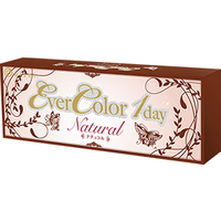 Ever Color 1 Day Natural 38 6  Water Content 20 Pack Contact Lenses