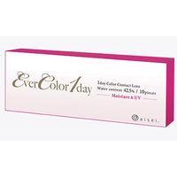 Ever Color 1 Day Natural 42 5  Water Content 10 Pack Contact Lenses
