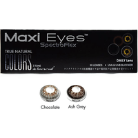 Maxi Eyes True Natural Colors 3 Tone Daily 30 Pack Contact Lenses