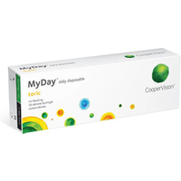 MyDay Toric Daily Disposable 30 Pack Contact Lenses