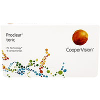Proclear Toric 6 Pack Contact Lenses