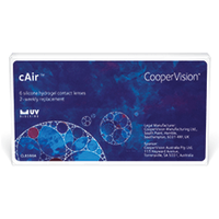 cAir 6 Pack Contact Lenses