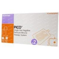 Pico Compress Silicon 15x20Cm 2 pieces