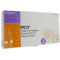 Pico Compress Silicon 15x15Cm 2 pieces