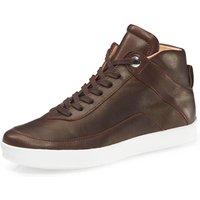 hessnatur Damen Damen Sneaker aus Leder – rot – Größe 36