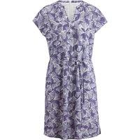 hessnatur Damen Kleid aus Bio-Baumwolle – lila – Größe 36