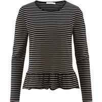 hessnatur Damen Pullover aus Bio-Baumwolle – schwarz – Größe 44