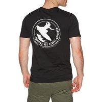 Camiseta de manga corta SNSC Surfers Not Street Children Logo - Black
