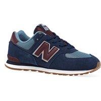 Calzado Niño New Balance 574 Lace - Navy