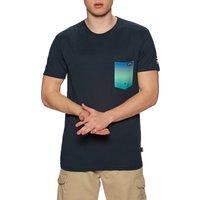 Camiseta de manga corta Hombre Billabong Team Pocket - Navy