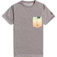 Surf T-Shirt Niños Billabong Team Pocket - Grey Heather