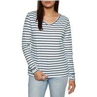 Camiseta de manga larga Mujer SWELL Sunset Stripe - Stripe
