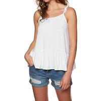 Camiseta sin mangas Mujer SWELL Mia Peplum - White
