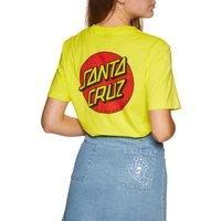 Camiseta de manga corta Mujer Santa Cruz Classic Dot - Limeade