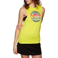 Camiseta sin mangas Mujer Santa Cruz Invade - Limeade