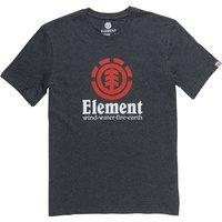 Camiseta de manga corta Element Vertical - Charcoal Heathe