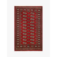image-Gooch Luxury Hand Knotted Pakistan Bokhara Handmade Rug, Red